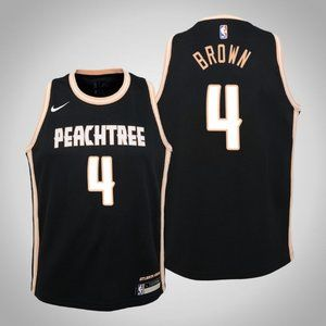 Women Atlanta Hawks Charlie Brown City Jersey